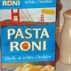 Review: Pasta Roni shells and white cheddar