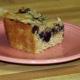 Egg-free blueberry coffee cake